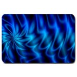 Blue Swirl Large Doormat