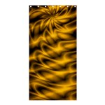 Golden Swirl Shower Curtain 36  x 72  (Stall)