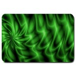 Green Swirl Large Doormat