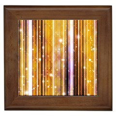 Luxury Party Dreams Futuristic Abstract Design Framed Ceramic Tile by dflcprints