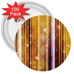 Luxury Party Dreams Futuristic Abstract Design 3  Button (100 Pack) by dflcprints