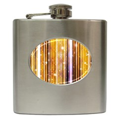 Luxury Party Dreams Futuristic Abstract Design Hip Flask by dflcprints