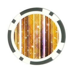 Luxury Party Dreams Futuristic Abstract Design Poker Chip by dflcprints