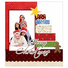 Merry Christmas By Betty   Drawstring Pouch (medium)   6iy00zo4lxoi   Www Artscow Com Front