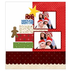 Merry Christmas By Betty   Drawstring Pouch (medium)   6iy00zo4lxoi   Www Artscow Com Back