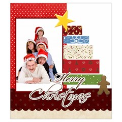 Merry Christmas By Betty   Drawstring Pouch (small)   Mg0tt90cnl6n   Www Artscow Com Front