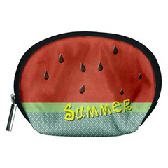 Watermelon By Arts    Accessory Pouch (medium)   Io58roofv543   Www Artscow Com Front