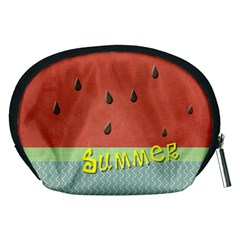 Watermelon By Arts    Accessory Pouch (medium)   Io58roofv543   Www Artscow Com Back
