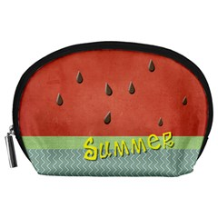 Watermelon By Arts    Accessory Pouch (large)   Pfyz8lsxfqux   Www Artscow Com Front