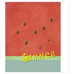 Watermelon By Arts    Drawstring Pouch (large)   589v10ywyjm9   Www Artscow Com Back