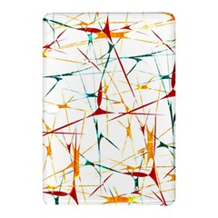 Colorful Splatter Abstract Shapes Samsung Galaxy Tab Pro 12 2 Hardshell Case by dflcprints