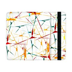 Colorful Splatter Abstract Shapes Samsung Galaxy Tab Pro 8 4  Flip Case by dflcprints