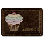Leather-Look Baking Large Doormat