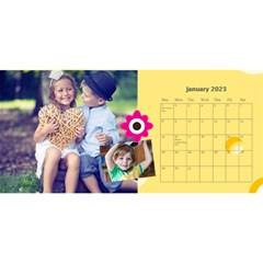 Kids By Kids   Desktop Calendar 11  X 5    Nzz2598sjeil   Www Artscow Com Jan 2015