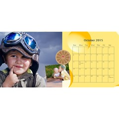 Kids By Kids   Desktop Calendar 11  X 5    Nzz2598sjeil   Www Artscow Com Oct 2015