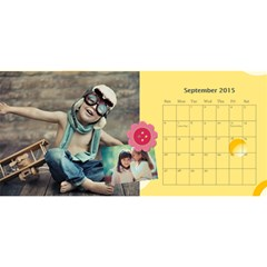 Kids By Kids   Desktop Calendar 11  X 5    Nzz2598sjeil   Www Artscow Com Sep 2015