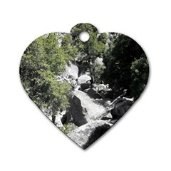 Yosemite National Park Dog Tag Heart (two Sides) by LokisStuffnMore