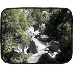 Yosemite National Park Double Sided Fleece Blanket (mini) by LokisStuffnMore