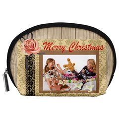 Happy Holiday By Betty   Accessory Pouch (large)   49dxmchvv49z   Www Artscow Com Front