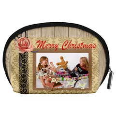 Happy Holiday By Betty   Accessory Pouch (large)   49dxmchvv49z   Www Artscow Com Back