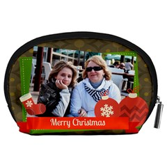 Happy Holiday By Betty   Accessory Pouch (large)   6w8nkisllvzd   Www Artscow Com Back