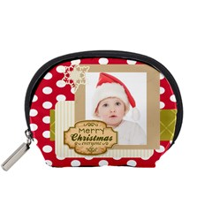 Happy Holiday By Betty   Accessory Pouch (small)   Kso1wy9mzxp7   Www Artscow Com Front