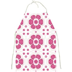 Sweety Pink Floral Pattern Apron by dflcprints