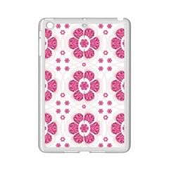 Sweety Pink Floral Pattern Apple Ipad Mini 2 Case (white) by dflcprints