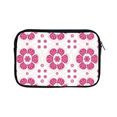 Sweety Pink Floral Pattern Apple Ipad Mini Zippered Sleeve by dflcprints