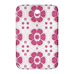 Sweety Pink Floral Pattern Samsung Galaxy Note 8 0 N5100 Hardshell Case  by dflcprints