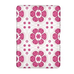 Sweety Pink Floral Pattern Samsung Galaxy Tab 2 (10 1 ) P5100 Hardshell Case  by dflcprints