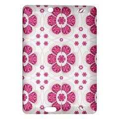 Sweety Pink Floral Pattern Kindle Fire Hd 7  (2nd Gen) Hardshell Case by dflcprints