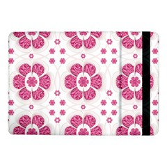 Sweety Pink Floral Pattern Samsung Galaxy Tab Pro 10 1  Flip Case by dflcprints