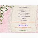 Mom s Birthday Party invitation - 5  x 7  Photo Cards