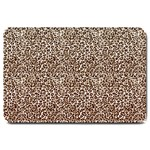 Just Snow Leopard Large Doormat