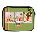 merry christmas, xmas, happy,  event - Apple iPad Zipper Case