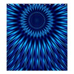 Blue Lagoon Shower Curtain 66  x 72  (Large)