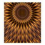Golden Lagoon Shower Curtain 66  x 72  (Large)