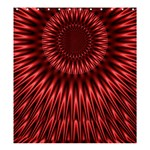 Red Lagoon Shower Curtain 66  x 72  (Large)