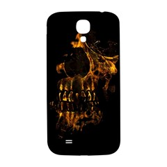 Skull Burning Digital Collage Illustration Samsung Galaxy S4 I9500/i9505  Hardshell Back Case