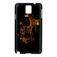 Skull Burning Digital Collage Illustration Samsung Galaxy Note 3 N9005 Case (black) by dflcprints