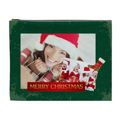 Merry Christmas By Xmas   Cosmetic Bag (xl)   Sd99s07ildu0   Www Artscow Com Front