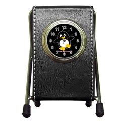 Here To Dance 3 Pen Holder Desk Clock by OurInspiration