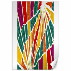Multicolored Vibrations Canvas 20  X 30  (unframed) by dflcprints