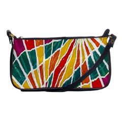 Multicolored Vibrations Evening Bag by dflcprints