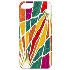 Multicolored Vibrations Apple Iphone 5 Classic Hardshell Case by dflcprints