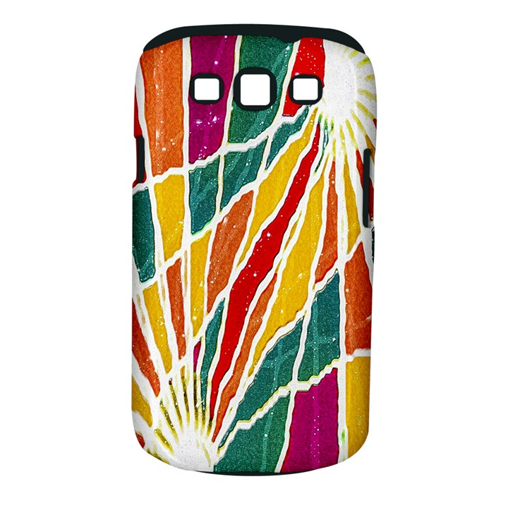 Multicolored Vibrations Samsung Galaxy S III Classic Hardshell Case (PC+Silicone)