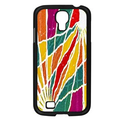 Multicolored Vibrations Samsung Galaxy S4 I9500/ I9505 Case (black) by dflcprints