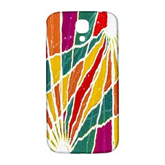 Multicolored Vibrations Samsung Galaxy S4 I9500/i9505  Hardshell Back Case by dflcprints