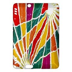 Multicolored Vibrations Kindle Fire Hdx 7  Hardshell Case